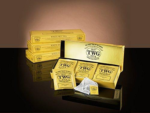 シンガポールの高級紅茶TWGシリーズ(White Sky Tea - 白い空15ティーパック)並行輸入品