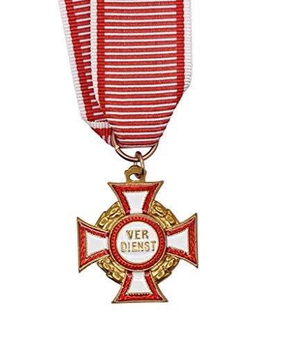 Militaire medaille collectie, Oostenrijkse militaire verdienstelijke medaille, legering materiaal militaire medaille collectie