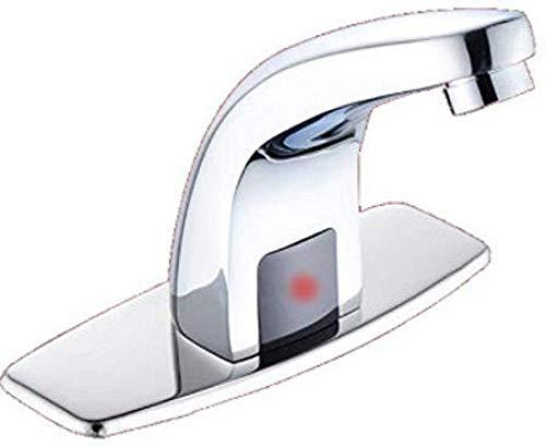 NewbieBoom - Grifo de Lavabo con Sensor automático para baño, Ahorro de...