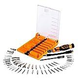 HshDUti 52 TLG Schraubendreher Satz Reparatur Werkzeug Set für Drone PC Computer RC Car Yellow