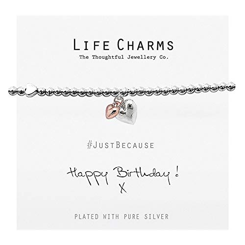 Life Charms Happy Birthday Bracelet