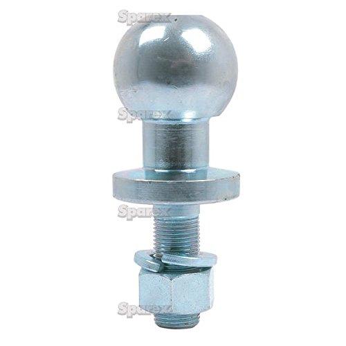 Enganche de bola bola de remolque patilla 50mm cromo Universal Quad ATV Heavy Duty 16mm