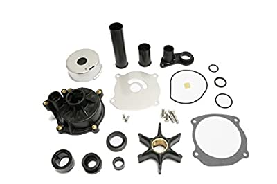 Createshao Outboard Water Pump Kit for Johnson Evinrude Boat Engine 5001595 With Housing 75-250HP by Createshao