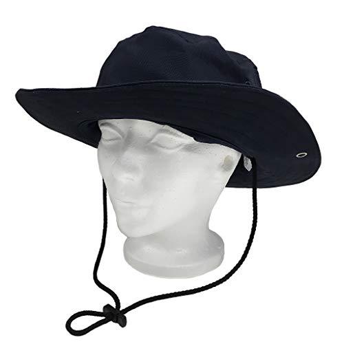 WOREMOR EMF Radiation Protection Bush Hat Blocking RF EMF - Cell Towers - Smart Meters - WiFi (X-Large, Navy)
