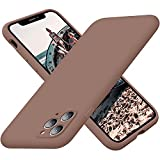 Cordking iPhone 11 Pro Max Case, Silicone Ultra Slim Shockproof Phone Case with Soft Anti-Scratch Microfiber Lining, [Enhanced Camera Protection], 6.5 inch, Light Brown