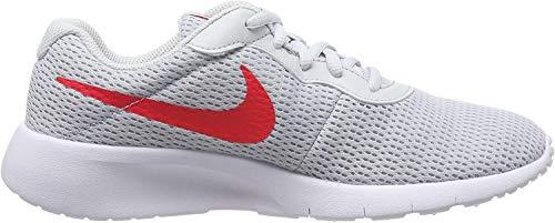 Nike Tanjun (GS), Zapatillas Unisex Niños, Gris (Pure Platinum/Red Orbit 024), 40 EU