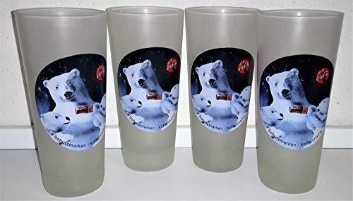 Coca-Cola - Verres en verre - Luminarc/ours glacé - Rétro - Vintage
