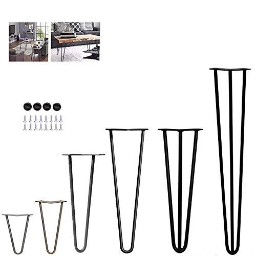 Negro Intenso HOLZBRINK Patas de Mesa perfiles de acero 100x20 mm HLT-01-A-HH-9005 1 Pieza forma de marco 100x72 cm
