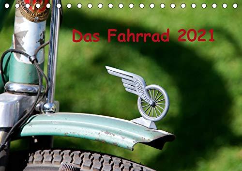 Das Fahrrad 2021 (Tischkalender 2021 DIN A5 quer)