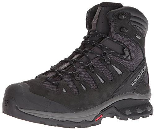 Salomon Men's Quest 4D 3 GTX Backpacking Boots, PHANTOM/Black/Quiet Shade, 11.5