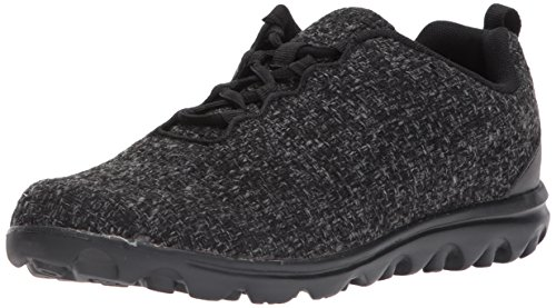 Propet Women's TravelActiv Woven Athletic Walking Shoe