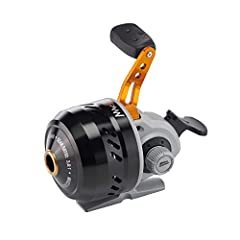 QuadCam Pickup System 3 ball bearings Pre-spooled with Berkley Trilene XL Smooth and consistent multi disc drag system Easy Spool Feature