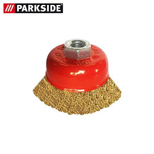 Parkside pannenborstel voor haakse slijper PWS 125 E4 - LIDL IAN 304008 Potborstel, gegolfd