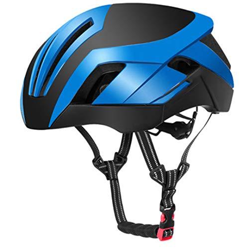Casco Ciclismo EPS Reflective Bike Casco 3 en 1 MTB Carretera Bicicleta Casco de luz de Seguridad para Hombre TT-30-BL2