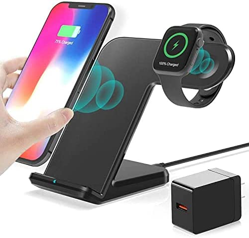 Wireless Max 61% OFF Charger 2 in 1 Super popular specialty store iWatch Stand with Dock Charging