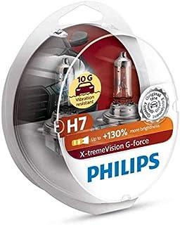 PHILIPS H7 X-trimVision G-force 12 فولت 55 وات هالوجين لمبات أمامية للسيارة حزمة مزدوجة