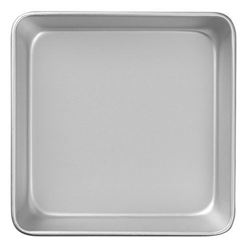 Wilton Performance Pans Aluminum Square Cake and Brownie Pan, 8-Inch