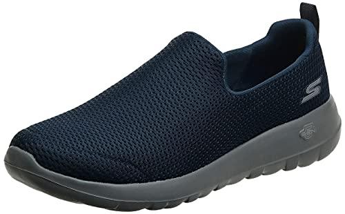 Skechers Men's Go Walk Max-Athletic Air Mesh Slip on Walkking Shoe Sneaker,Navy/Gray,10.5 M US