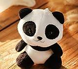 WYBL Mini Panda 10cm Juguetes de Felpa 4colores Llavero Relleno Pascua Navidad cumpleaños...
