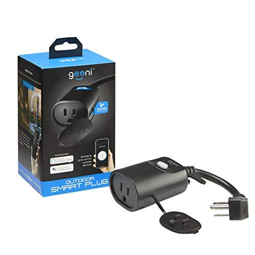 Geeni Indoor/Outdoor Smart Plug Weatherproof, 1 Socket
