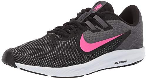 Nike Downshifter 9, Scarpe da Corsa Donna, Multicolore (Black/Laser Fuchsia/Dark Grey/White 000), 36.5 EU