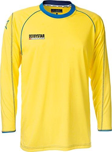 Derbystar Trikot Energy Langarm, XXL, gelb blau, 6196070560