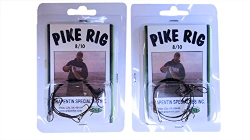 Catchmore Muskie & Pike Rig - #PR810 - Ice, Summer, Tip-up, or Bobber...