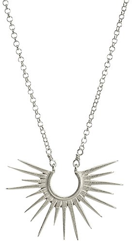 Dogeared Rays For Days, Medium Rays Chain Necklace, Silver, 18