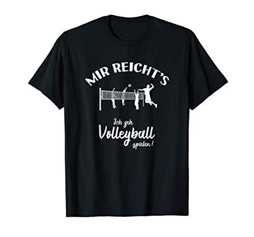 Ich geh Volleyball spielen! - Volley Beach-Volleyball T-Shirt