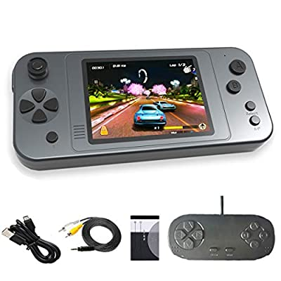 Great Boy Portable Handheld Games for Kids Preloaded 380 Classic Retro Games with 3.5'' Big Color Display and Gamepad Rechargeable Arcade Gaming System from Great Boy Int.
