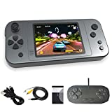 Great Boy Portable Handheld Games for Kids Preloaded 380 Classic Retro Games with 3.5'' Big Color Display and Gamepad Rechargeable Arcade Gaming System