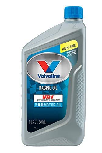 Valvoline VR1 Racing SAE 40 Motor Oil 1 QT