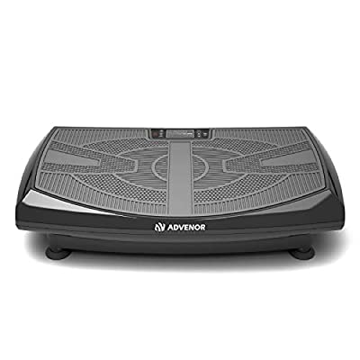 ADVENOR 4D Vibration Plate Exercise Machine Triple Motor 120 Speed Loop Bands Whole Body Workout Fitness 3D/4D Vibration Platform Whole Body Vibration Machine for Home Fitness Weight Loss&Shaping