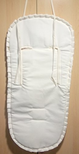Colchoneta Rectangular Verano Pique Beige Universal