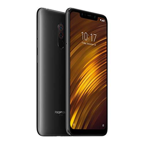 Xiaomi Pocophone F1 Smartphones 6.18 '' Pantalla Completa Pantalla Grande Tecnología LiquidCool 4000mAh Carga rápida, 6GB RAM + 64GB ROM Snapdragon 845 Octa Core, Tarjetas Dual SIM (Negro)