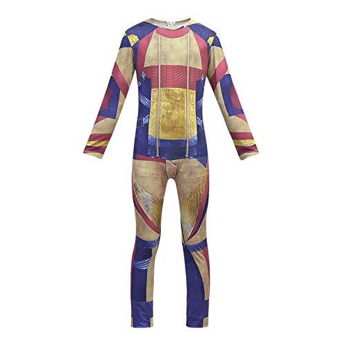 LUCKYER Disfraz Los Descendientes Juguetes de Descendientes,Disfraces de Cosplay de Jay para Adultos y Niños, Adecuados para Halloween y Carnaval L