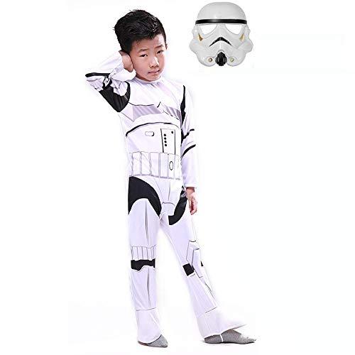NEW EXOTIC Costume Cosplay 3D Natalizio Stretto di Halloween per Bambini Costume Star Wars di Vida/Bai Bing/LUN Samurai B-M