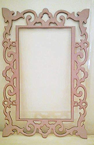 Marco decorativo de madera DM ideal para decorar candy bar, mesa dulce o para photocall. Medidas 66 cm x 45 cm