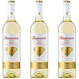 Diamante Vino Blanco - 3 botellas x 750ml - total: 2250 ml