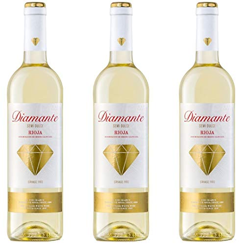 Diamante Vino Blanco - 3 botellas x 750ml - total: 2250 ml