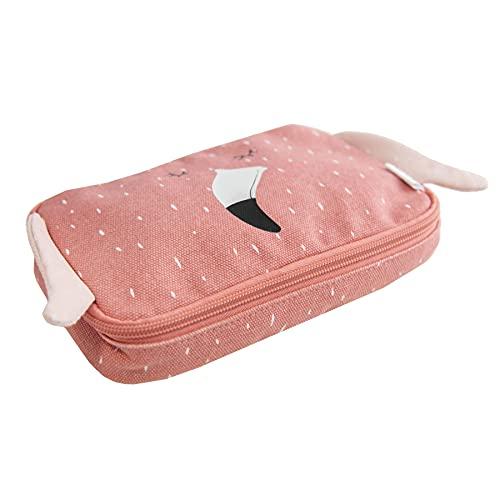 Trixie Baby Stiftetasche Federmäppchen Rechteckig Flamingo