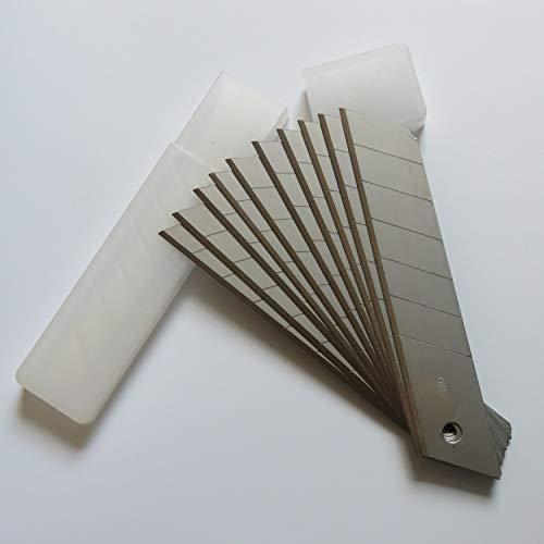 BS - Cuchillas de acero al carbono de 25 mm x 25 mm x 127 mm