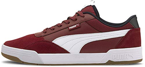 Puma - Mens C-Skate Shoes, Size: 9.5 D(M) US, Color: Cordovan/Puma White
