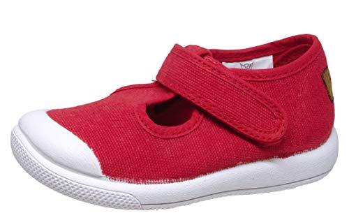 Kavat Mölnlycke TX barn stängda sandaler Espadrilles, - Röd röd 999 - 24 EU