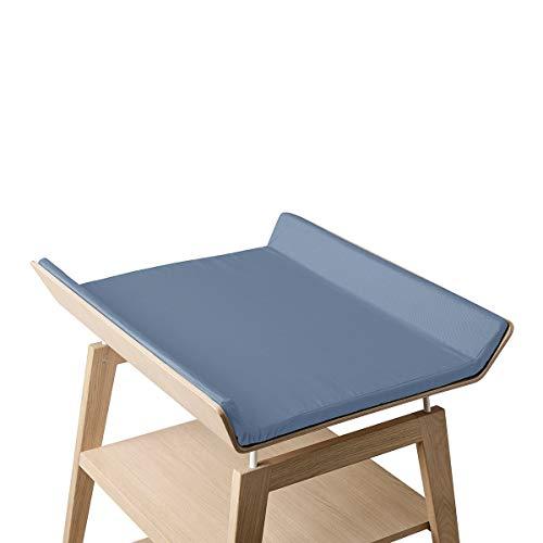 dusty blue - Linea by Leander overtrek voor Linea luiertafel ZONDER luiertafel en zonder schuimkussen