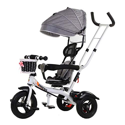 Buy Bargain Baby Bicycle Child Tricycle Child Bicycle Baby Stroller Three-Speed Adjustment Hood Two-...