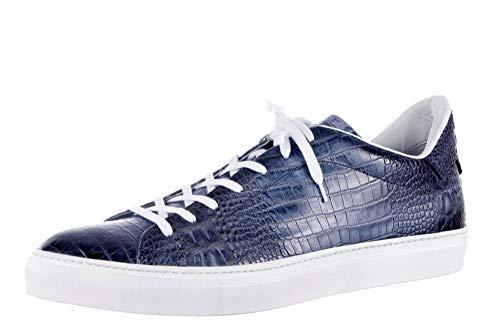 Giorgio 1958 Baskets pour Homme Bleu - Bleu - Denim, 47 EU