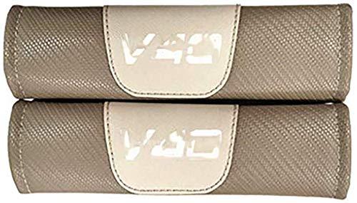 Almohadillas de cinturón de seguridad de automóviles durables, 2 piezas multifuncionales multifuncionales Cinturones de seguridad para automóviles Cubiertas para acolchado para V-OLVO V40 Accesorios i