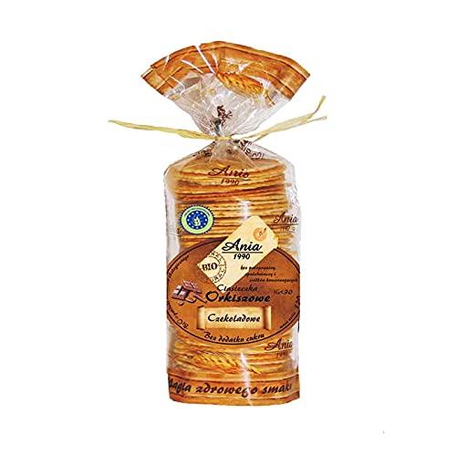 Biscotti di farro al cioccolato senza zucchero BIO 120 g Ania Bio