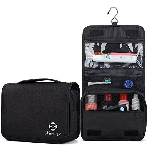 Travel Hanging Toiletry Wash Bag Makeup Cosmetic Organizer for Women Girls Kids Waterproof...